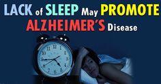 VI: Lack of Sleep Lead To Alzheimer's disease (MEMORY ...