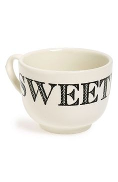 Sir Madam 'Grand Cup - Sweetie' Porcelain Mug available at #Nordstrom