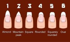 Nail tips.