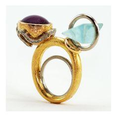 """Mapas"" by Juan Martin Jewelry Art, Beaded Jewelry, Casket, Gemstone Rings, Contemporary, Beads, Wood, Crafts, Maps"