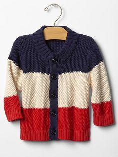 Gap   Americana stripe cardigan