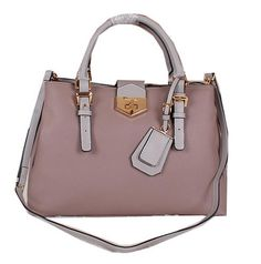 89590c16216a Prada Original Leather Tote Bag BN1094 Khaki -  239.00 Prada Bag