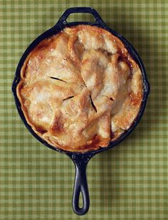Easy Skillet Apple Pie - Someone mentioned doing it with peaches. Also someone mentioned adding cornstarch so it isn't runny. I'll save this for apple season.