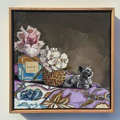 This one has very special meaning and I was so honoured to paint it. Much love to this family 💞. Pen And Watercolor, Watercolor Paintings, Floral Paintings, Be Still, Still Life, Australian Art, New Zealand, Special Meaning, Burmese