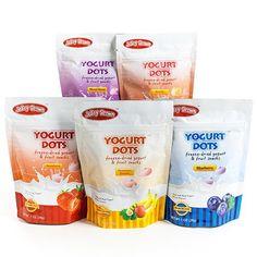 Yogurt Dots Freeze-Dried Yogurt Snacks - Strawberry Banana 3-Pack (3 ounce)