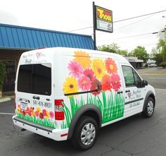 9b7c21d084 51 Awesome Florist Delivery Van Graphics   Wraps images