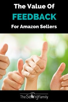 Amazon seller feedback is your social credibility on Amazon, the world's largest…