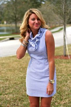 presh. This dress is J Crew factory! I just bought it in the pink color.