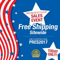 Free shipping sitewide, today only! Happy President's Day from Just for Jeeps.  Start shopping: JustForJeeps.com  #justforjeeps #jeeps #jeeplovers #itsajeepthing #lovejeep #allthingsjeep #holidayspecial #presidentsday #presidentsdaysale #freeshipping #jeeploversonly #salesevent #sale
