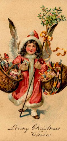 vintage Christmas wishes