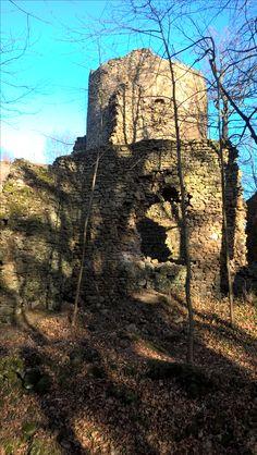 Zamek Cisy,ruiny