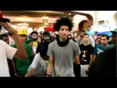 Laurent (Les Twins) and girls - World Of Dance NYC 05.28.2011