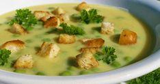Polévka z cu kety, sýru a hrášku Czech Recipes, Raw Food Recipes, Soup Recipes, Cooking Recipes, Healthy Recipes, Ethnic Recipes, Vegetarian Soup, Vegetarian Recipes, Good Food