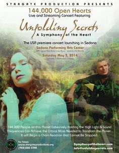 Marco Missinato - Unfolding Secrets, Live in SEDONA, AZ, May 3, 2014, also live streaming online.