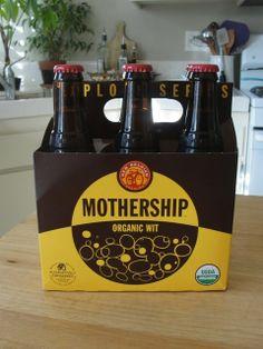 #Mothership #Organic beer.