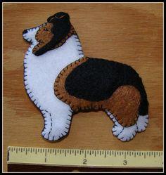 Shetland Sheepdog-Sheltie-handmade Christmas