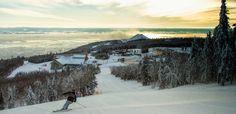 Le Massif de Charlevoix, Quebec. #SLSummits Ski // Ski Québec