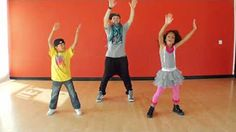 dance routines for kids - YouTube