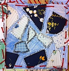 first grade crazy quilt from artprojectgirl blog :)