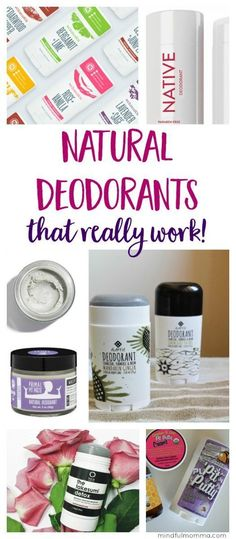 Learn how to find the non-toxic, natural deodorant brand that works best for you based on your preferences and needs. Includes stick deodorant, cream deodorant and spray deodorant.  | #deodorant #deodorant #naturalbeauty #nontoxic #natural  via @mindfulmomma