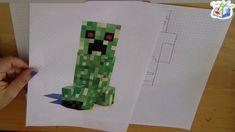 Disegniamo Minecraft: Steve e il creeper