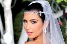 kim kardashian wedding makeup - even though I don't like her much...