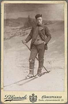 Fridtjof Nansen,Norwegian explorer  (1861-1930), photographed 1890 by L. Szacinski | Flickr - Photo Sharing!