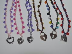 HEART pendant VALENTINE'S day little girl necklaces by wandandwear, $10.00