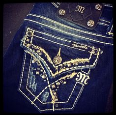 Miss Me Studded Southwestern Bootcut - Available in-store & Online at www.ShopHoityToity.com