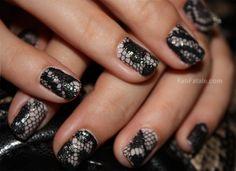 Lace Manicure - I love it!