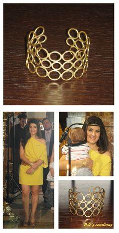 A bracelet full of circles . just like life! Circles, Bracelets, Gold, Life, Jewelry, Jewlery, Jewerly, Schmuck, Jewels
