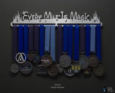 Magical Designs Medal Hangers | Sport & Running Medal Displays | The Original Stainless Steel Medal Display