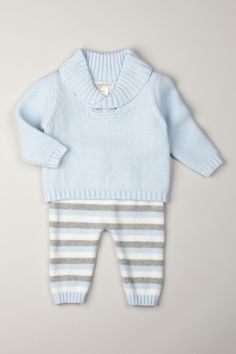 Brooklyn Shawl Collar Sweater Set by Angel Dear on @HauteLook