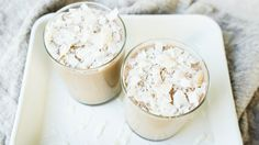 Coconut + Maca Shake