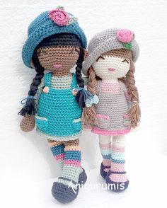 Patrón de muñeca amigurumi Anni – Crochet Con Sofia