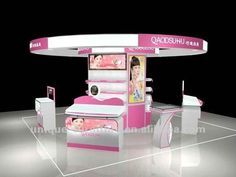 Cosmetic display cabinet for shopping mall/Supermaket equipment