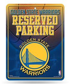 Golden State Warriors Parking Sign