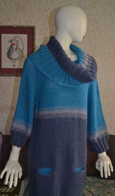 "Dress - tunic  "" Turquoise"""