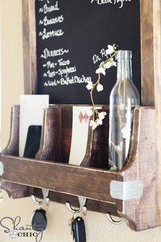 DIY Home Ideas   Check out these five ways to organize your mail and papers efficiently and stylishly!