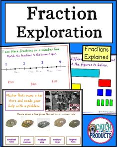 √ Math Exercises for Kids Comparing. 7 Math Exercises for Kids Comparing. Learning About Fractions 4th Grade Math Worksheets, Fraction Activities, Number Worksheets, Free Worksheets, Alphabet Worksheets, Teaching Fractions, Ordering Fractions, Dividing Fractions, Multiplying Fractions