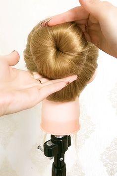 Dance Hairstyles, Bun Hairstyles For Long Hair, Hairstyles Videos, Hair Videos, Front Hair Styles, Medium Hair Styles, Natural Hair Styles, Easy And Beautiful Hairstyles, Hair Style Vedio