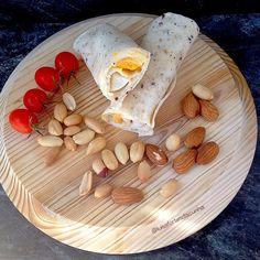 My Casual Brunch: Wrap de ovo cozido e queijo creme