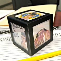 Make a Bitmoji Mood Cube to Bitmoji Your Desk!