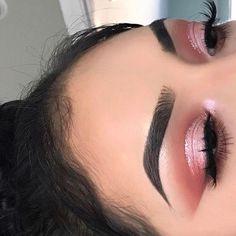 Look de Maquillage (notitle) maquillaje makeup is part of eye-makeup - Look de Maquillage (notitle) Look de Maquillage (notitle) See it Glam Makeup, Baddie Makeup, Pink Eye Makeup, Makeup Inspo, Hair Makeup, Makeup Hacks, Makeup Ideas, Makeup Glowy, Red Dress Makeup