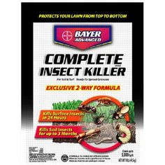 Bayer Advanced 700288 Complete Insect Killer for Soil and Turf Granules 10Pound *** Visit the image link more details.