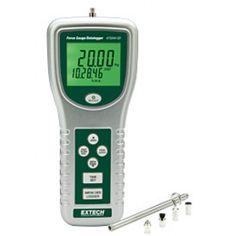 http://termometer.dk/specialmaler-r13485/maler-for-kraft-och-vibration-r13498/high-capacity-kraftmaler-datalogger-53-475044-SD-r34356  High Capacity kraftmåler / Datalogger  Features 20 kg, 44 £ og 196 newton skubbe / trække måling kapacitet  Stor dobbelt baggrundsbelyst LCD med vendbar display funktion til at matche betragtningsvinkel  Arkiverer data på SD-kort  Opdateringer læser hver 0,2 sekunder og samplingfrekvens er 1 sekund til 9 timer  Integreret belastning målecelle...