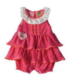 Baby Girl Summer Lovin' Sleeveless Romper   Hallmark Baby Clothes