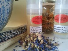 Vegan Herbal Infused Facial Lotion and Passion Fruit