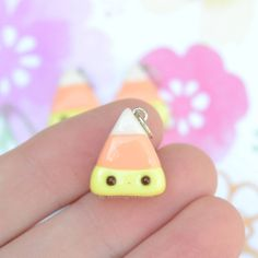 Pastel candy corn! These are listed in my shop :P I've had so much fun making halloween things, its one of my favorite holidays!!