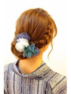 ヘアークークー hair coucouドレスにも似合う編み込みスタイル☆結婚式や二次会にも★★m